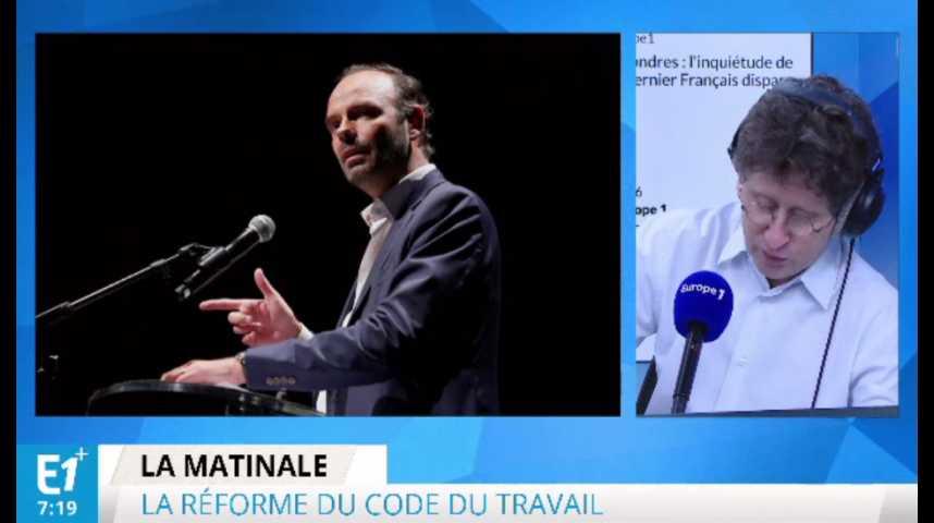 Illustration pour la vidéo Réformes sociales : la méthode Macron-Philippe à l'opposé de celle de Hollande-Valls