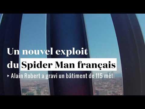"""Nouvel exploit du """"Spiderman français"""""""