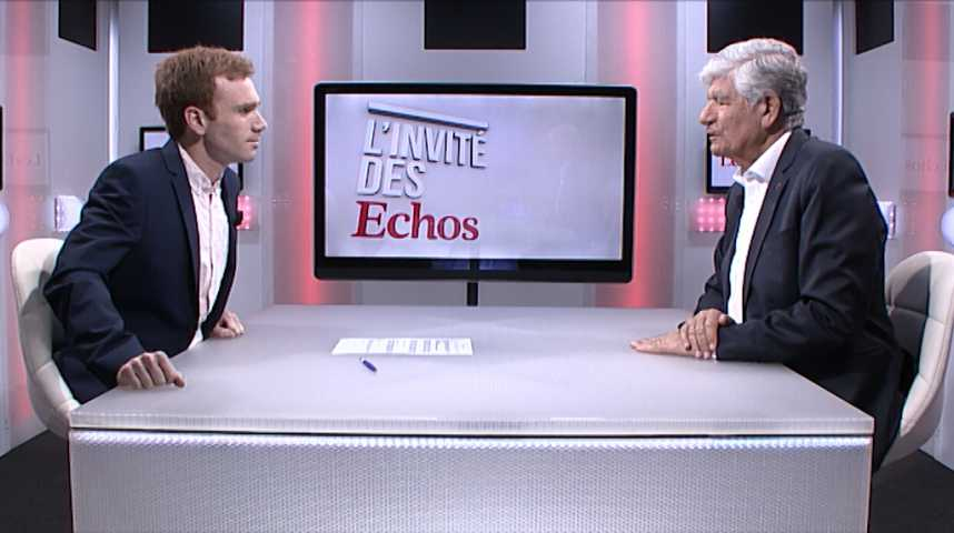 Illustration pour la vidéo A l'international, « il y a un effet Macron dans l'esprit des gens » (Maurice Levy)