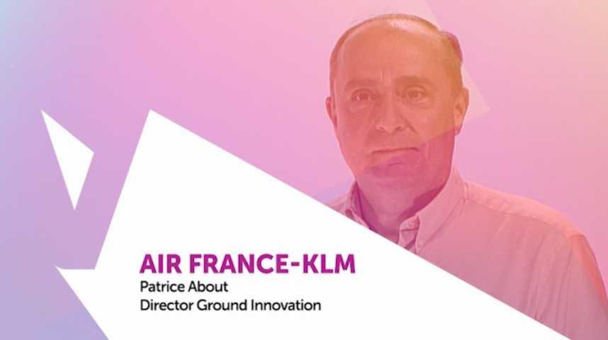 Illustration pour la vidéo Viva Technology - Imaginer le voyage de demain avec Patrice About, Directeur de l'innovation au sol Air France KLM