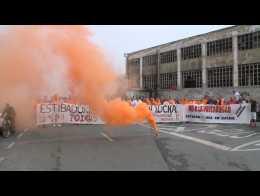 Los estibadores comienzan la huelga de 48 horas