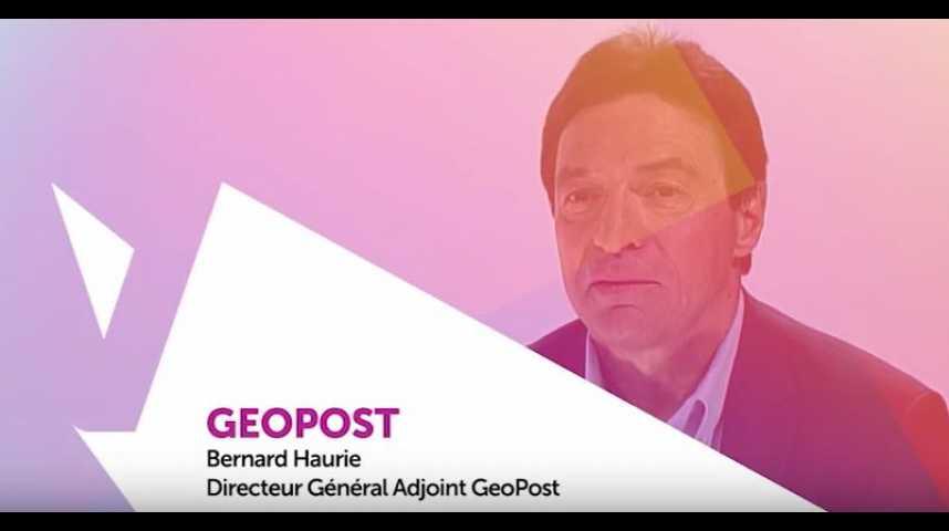 Illustration pour la vidéo Viva Technology - Geopost : les start-ups comme booster d'innovation