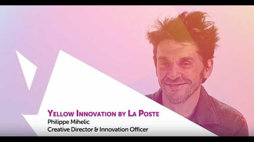 Illustration pour la vidéo Viva Technology - La Poste présente Yellow Innovation : le laboratoire 2.0 du Groupe La Poste