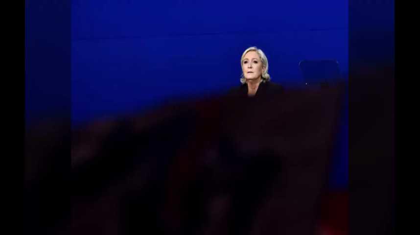 Illustration pour la vidéo Quand Marine Le Pen plagie un discours de François Fillon