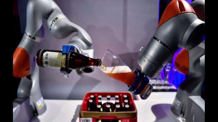 Illustration pour la vidéo Emplois vs. robots : la terrible prédiction de la Banque mondiale
