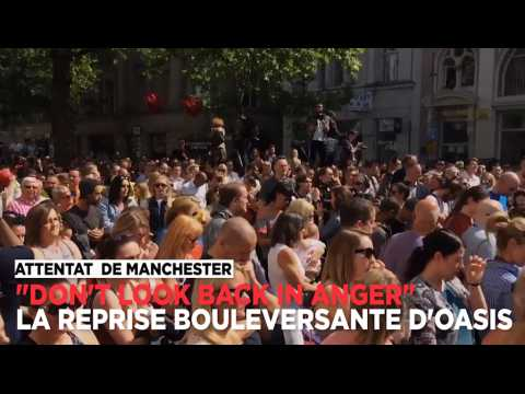 Attentat de Manchester : pour résister, ils chantent en choeur une chanson d'Oasis