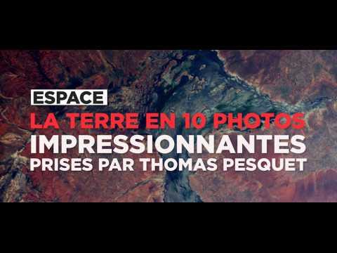 La Terre en 10 photos renversantes prises par Thomas Pesquet