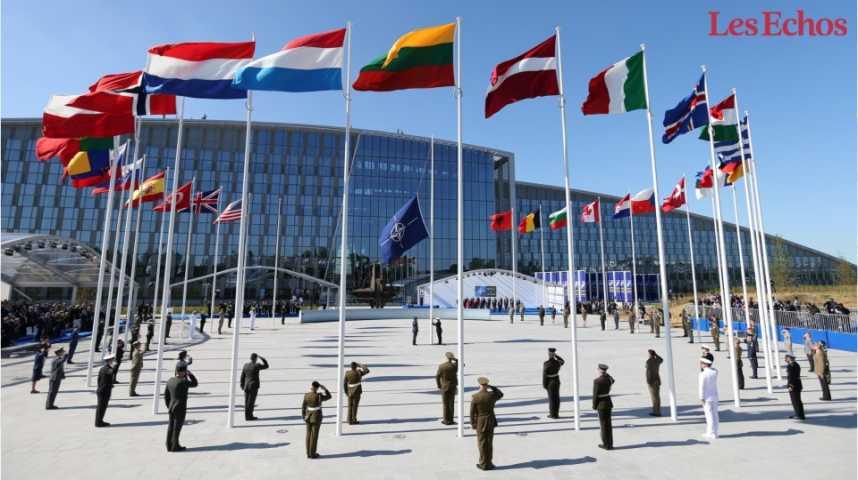 Illustration pour la vidéo Le nouveau siège de l'OTAN estimé à plus de un milliard d'euros