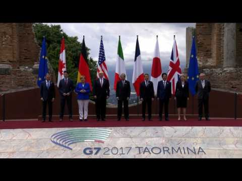 G7 leaders meet for summit in Sicily
