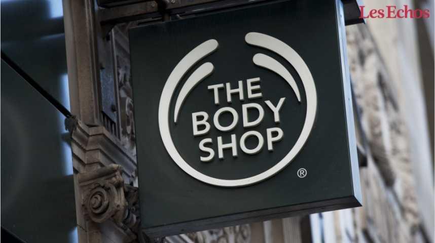 Illustration pour la vidéo The Body Shop bientôt sous pavillon chinois ?