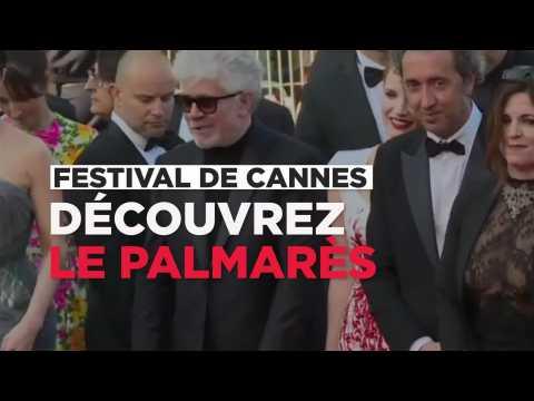 Le palmarès complet du Festival de Cannes en bande-annonce