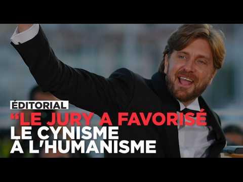 """""""Le jury a favorisé le cynisme à l'humanisme"""", réagit notre envoyé spécial après l'annonce du palmarès"""