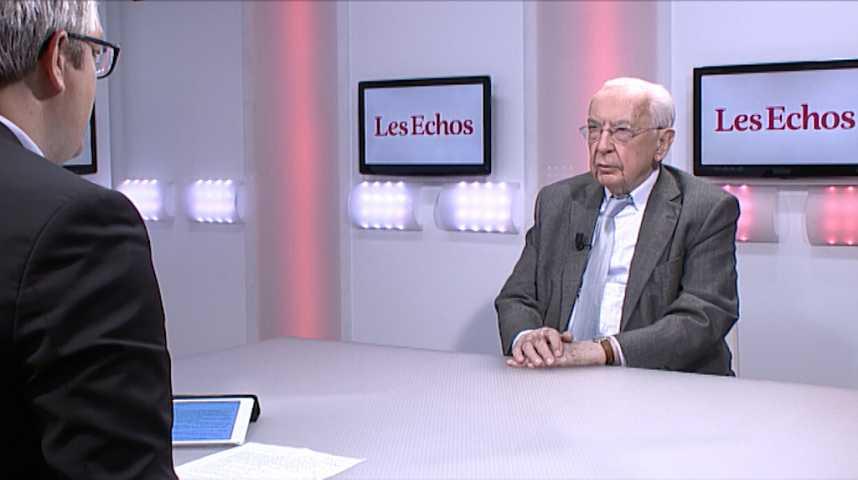 """Illustration pour la vidéo Jacques de Larosière : """"Le plein emploi, c'est le grand défi du nouveau président de la République"""""""