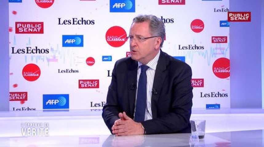 Illustration pour la vidéo Emmanuel Macron « ne sera pas un président médiatique, mais à l'écoute et à l'action » selon Ferrand
