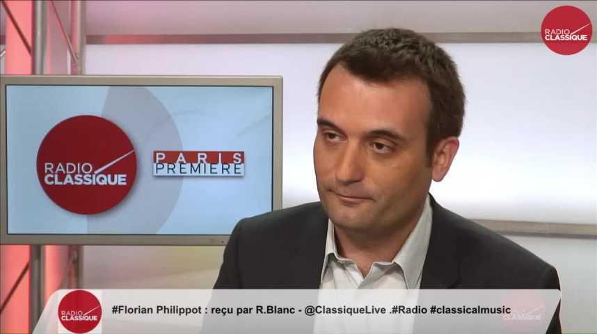 Illustration pour la vidéo « La vraie opposition ne s'incarnera que par des députés FN » Florian Philippot (22/05/2017)