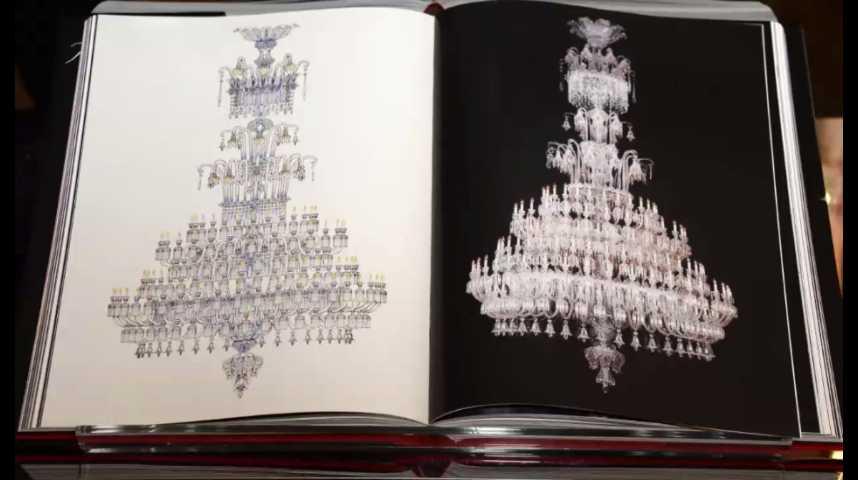 Illustration pour la vidéo La cristallerie Baccarat est à vendre