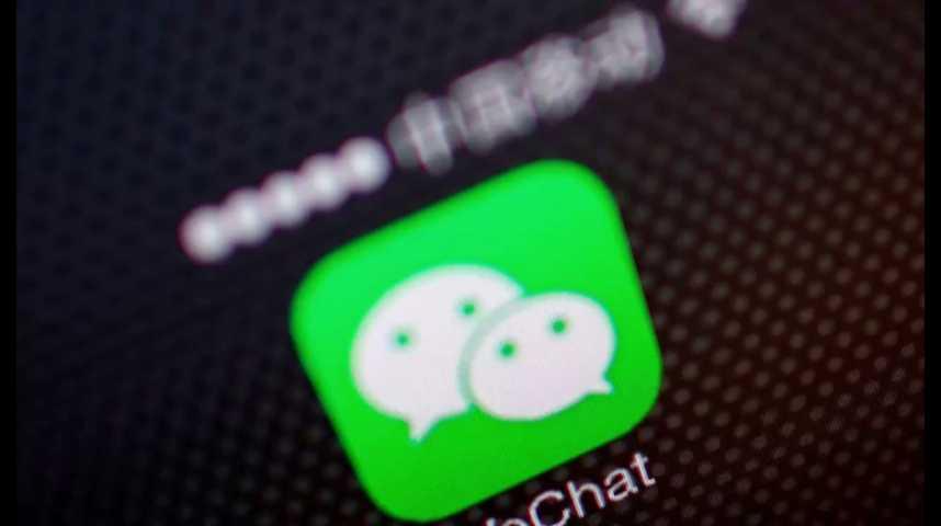 Illustration pour la vidéo Chine : Apple engage un bras de fer risqué avec Wechat