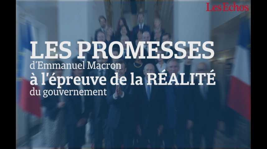 Illustration pour la vidéo Le nouveau gouvernement tient-il ses promesses ?