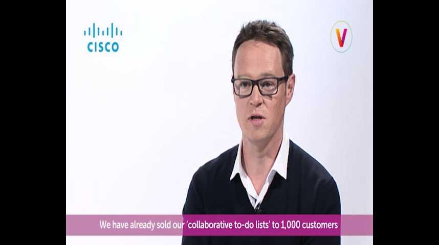 Illustration pour la vidéo Viva Technology - Cisco présente Azendoo, la startup qui aide les entreprises à optimiser leur travail en équipe en temps réel