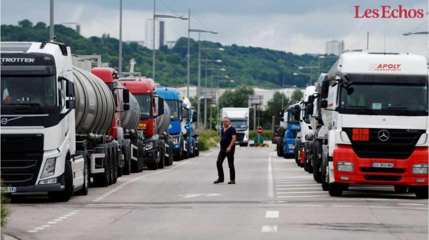 Illustration pour la vidéo Carburants : pourquoi les routiers font-ils grève ?