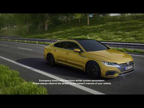 The assistance systems of the Volkswagen Arteon - Emergency Assist | AutoMotoTV