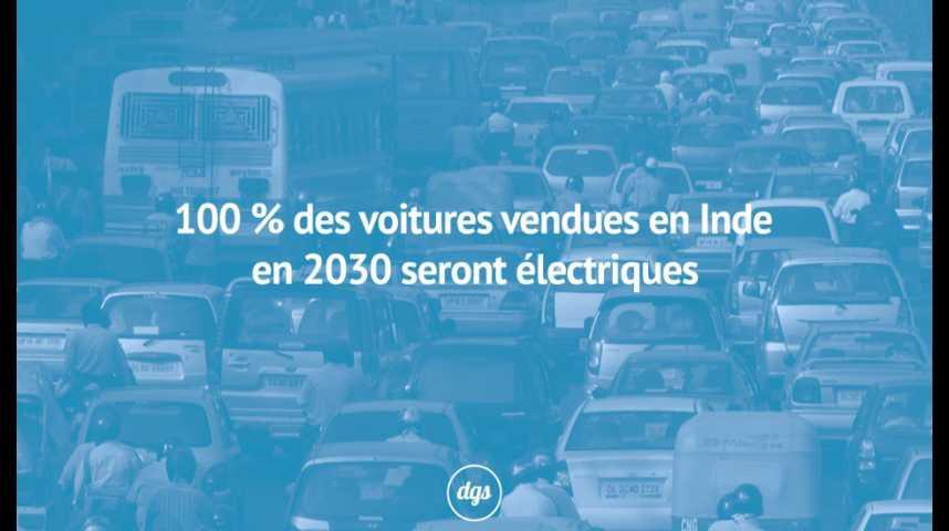 100 des voitures vendues en inde en 2030 seront lectriques sciences et avenir. Black Bedroom Furniture Sets. Home Design Ideas