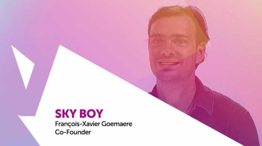 Illustration pour la vidéo Viva Technology - RATP présente SkyBoy et une réalité augmentée plus belle que nature