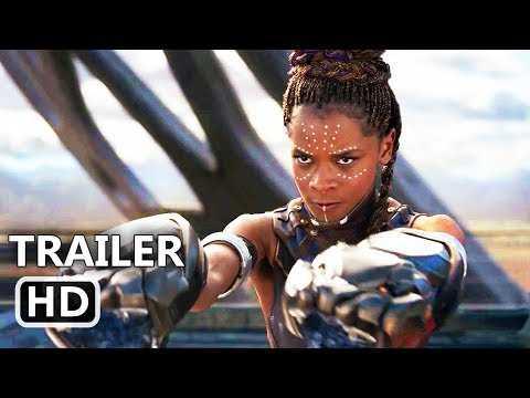 BLACK PANTHER Official Trailer (2018) Marvel Superhero Blockbuster Movie HD