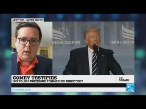 Comey Testifies -  Did Trump pressure former FBI director? (part 2)