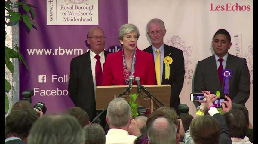 """Illustration pour la vidéo Theresa May : """"Plus que tout, le Royaume-Uni a besoin d'une période de stabilité"""""""