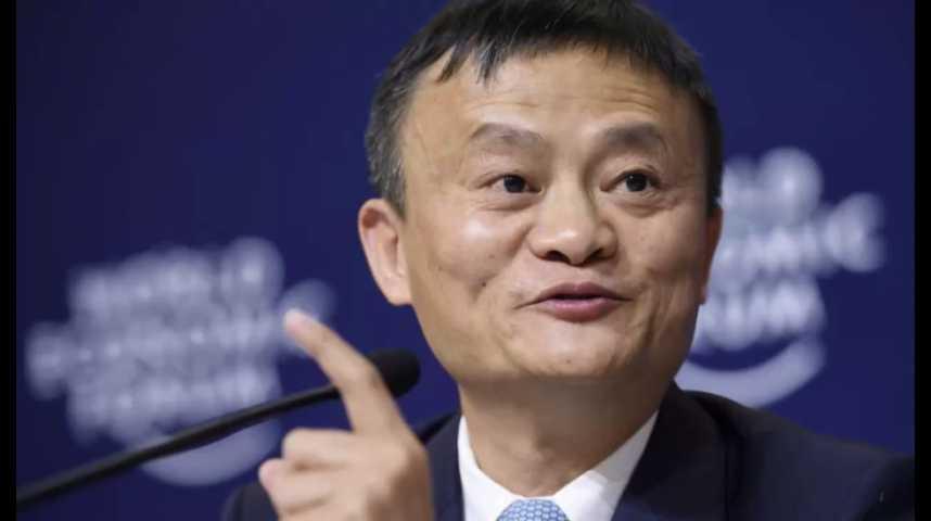 Illustration pour la vidéo Le patron d'Alibaba plus riche de 3 milliards de dollars en une nuit