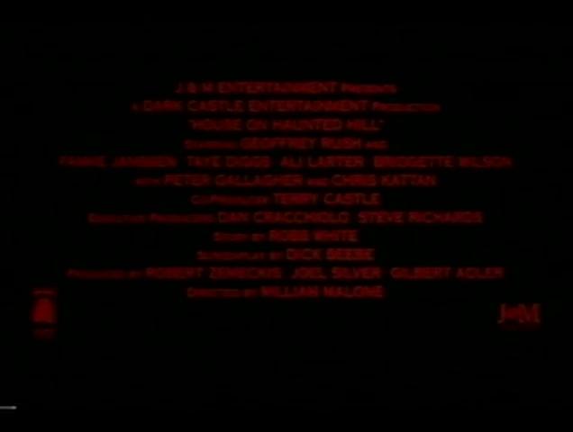 La Maison de l'horreur - bande annonce - VF - (2000)