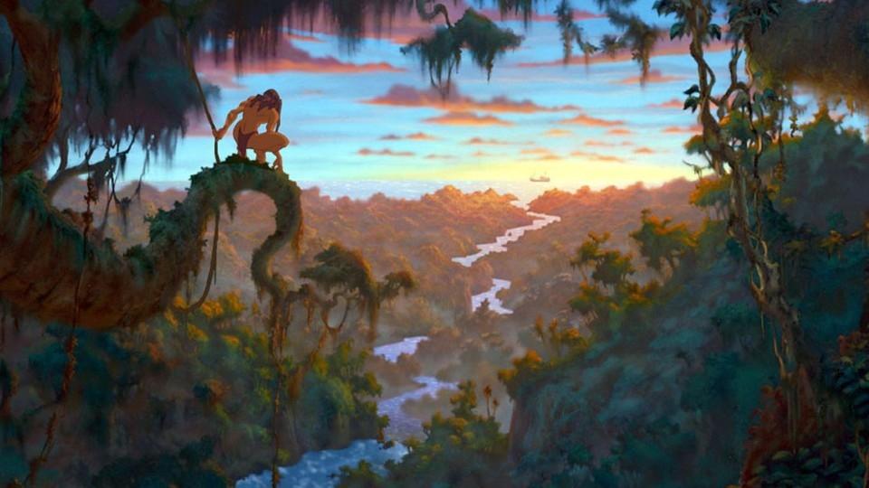 Tarzan - bande annonce - VO - (1999)