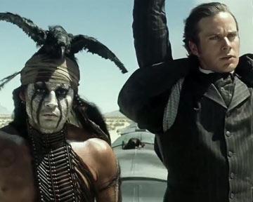 Lone Ranger, Naissance d'un héros - teaser - VO - (2013)