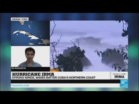 Hurricane Irma: Strong winds and waves batter Cuba''s northern coast