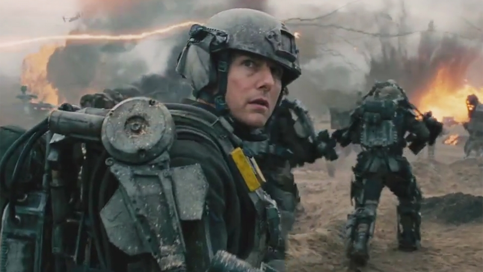 Edge Of Tomorrow - bande annonce - VO - (2014)