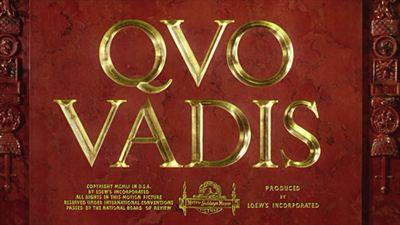 Quo Vadis - bande annonce - VO - (1953)