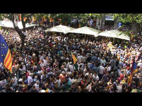 Barcelone : des milliers de Catalans dans la rue après une série d'arrestations