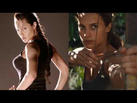 Angelina Jolie vs. Alicia Vikander : qui est la meilleure Lara Croft ?
