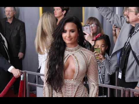 Demi Lovato 'inspired' by Christina Aguilera