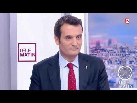 Philippot claque la porte du Front National - ZAPPING ACTU DU 21/09/2017