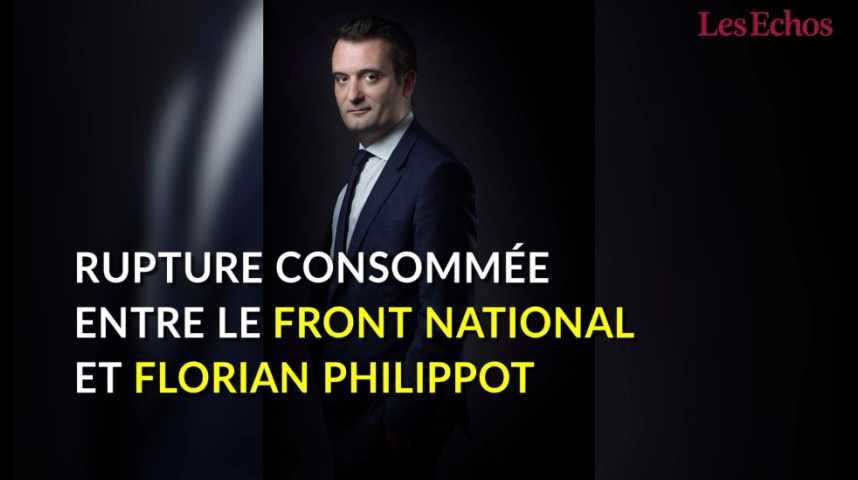 Illustration pour la vidéo Florian Philippot s'explique sur son départ du Front National