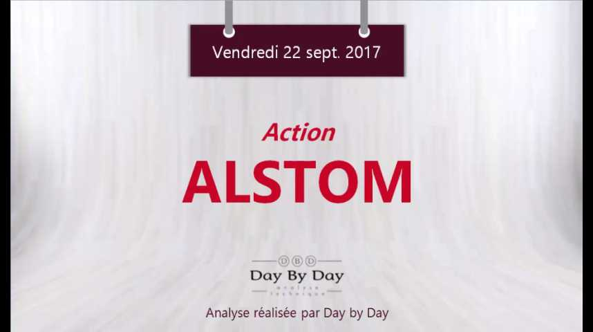 Illustration pour la vidéo Action Alstom - sortie de rectangle - Flash Analyse IG 22.09.2017