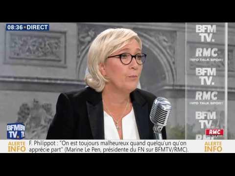 Le Pen sur Philippot : «J'ai le sentiment d'un immense gâchis» - ZAPPING ACTU DU 22/09/2017