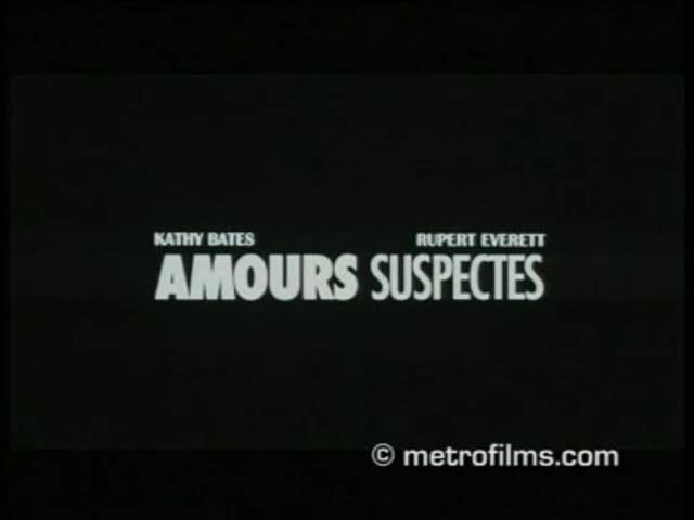 Amours suspectes - bande annonce 2 - VOST - (2003)