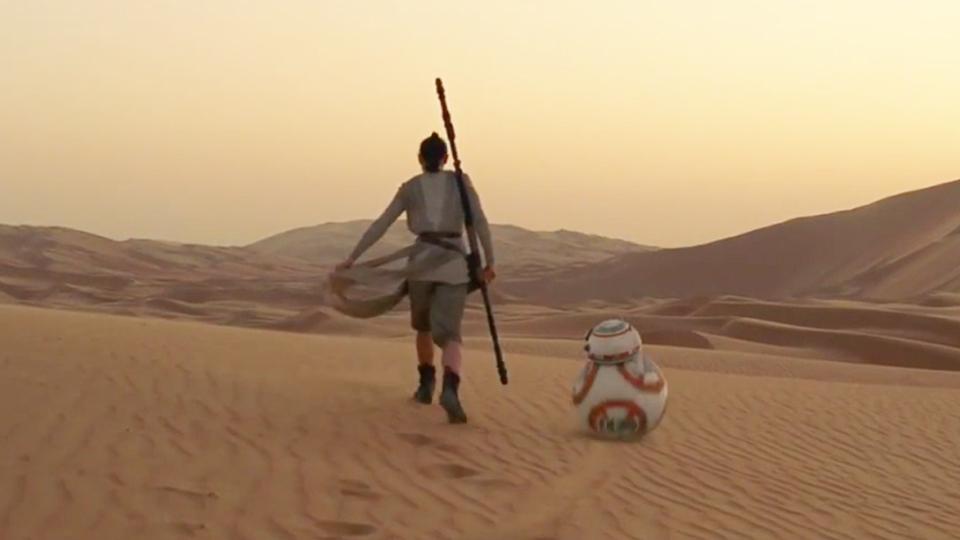 Star Wars - Le Réveil de la Force - bande annonce 5 - VOST - (2015)