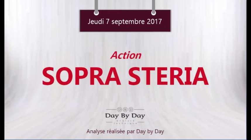 Illustration pour la vidéo Action Sopra Steria - nouveau plus haut historique - Flash analyse IG 07.09.2017