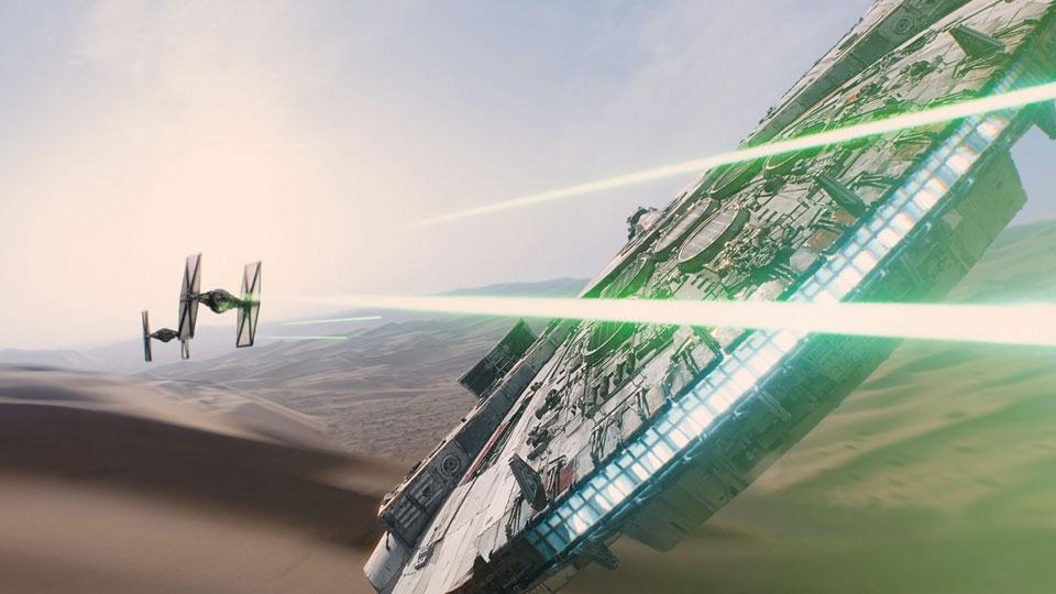 Star Wars - Le Réveil de la Force - bande annonce - VO - (2015)