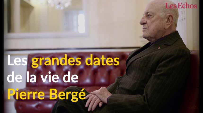 Illustration pour la vidéo Les grandes dates de la vie de Pierre Bergé
