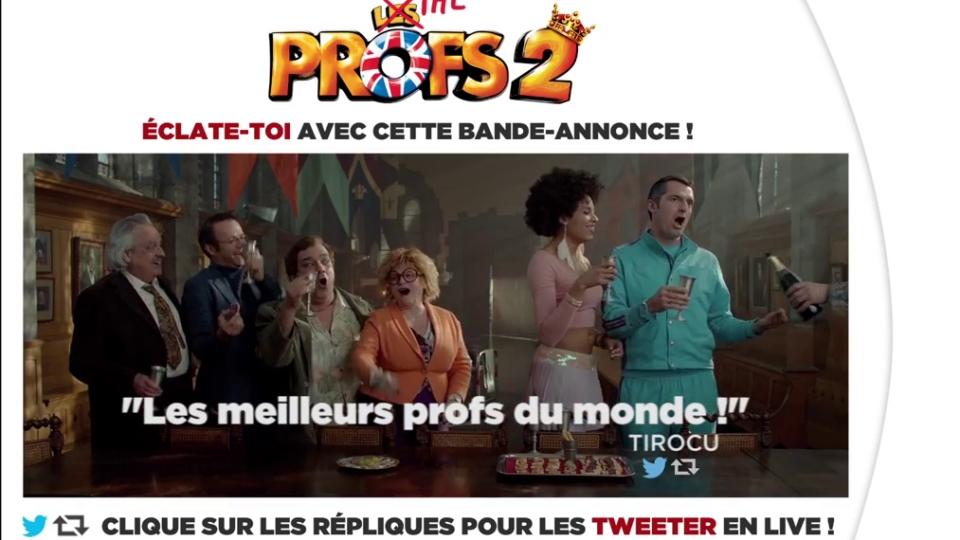 Les Profs 2 - bande annonce 2 - (2015)